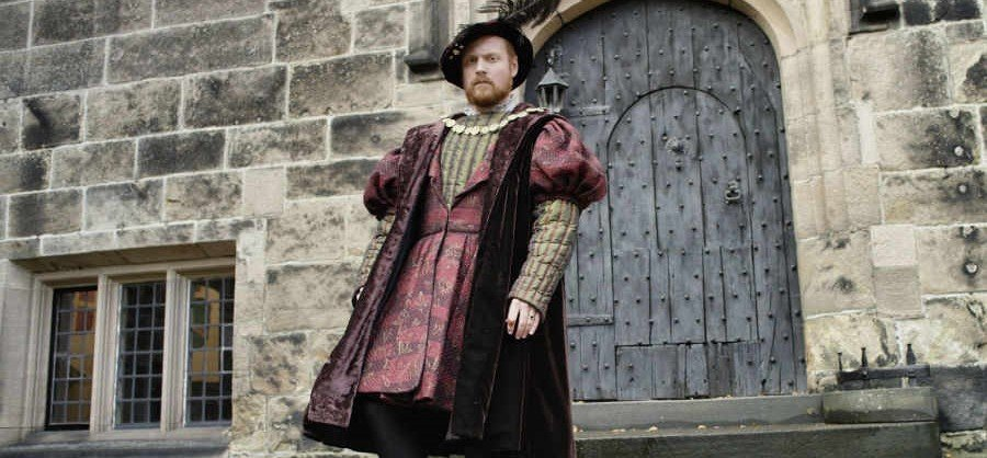 Henry viii nude king