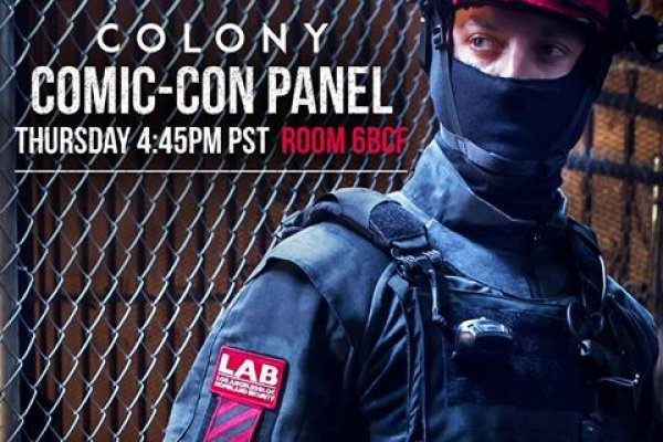 Colony - fotogalerie z Comic-Con 2016!
